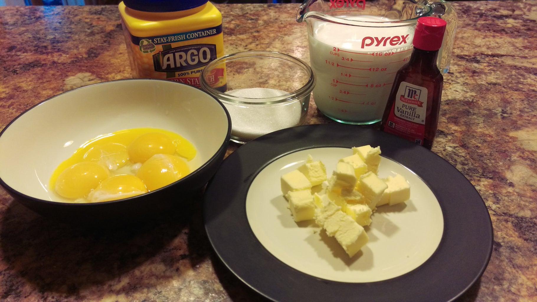 Make Pastry Cream