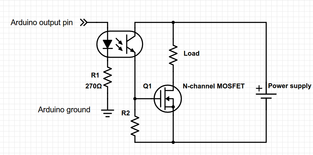 Driver For Mosfet Irf520n For Boost Converter