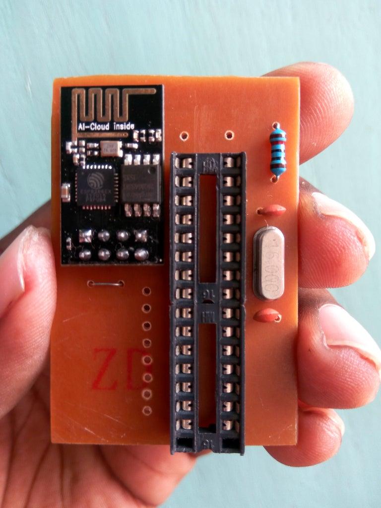 Solder ESP8266 Module to PCB