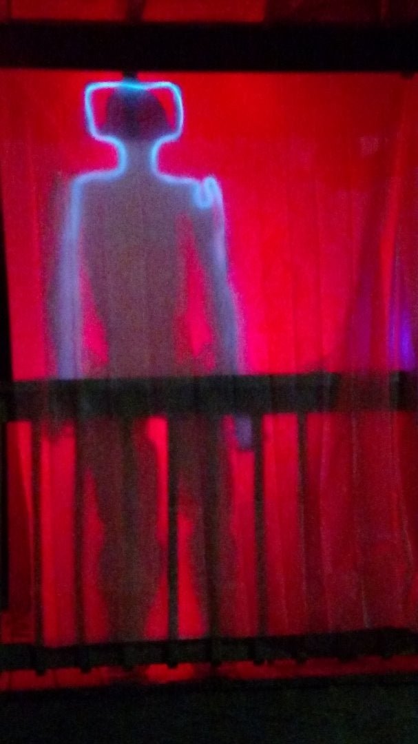 Doctor Who Cyberman Upgrading Area Halloween Decor
