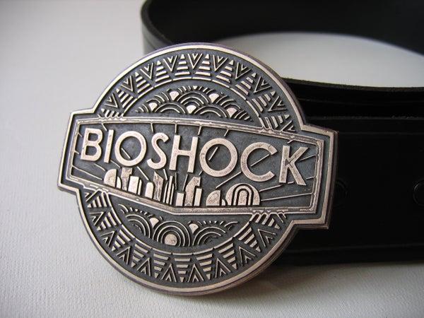 Bioshock Belt Buckle in Bronze