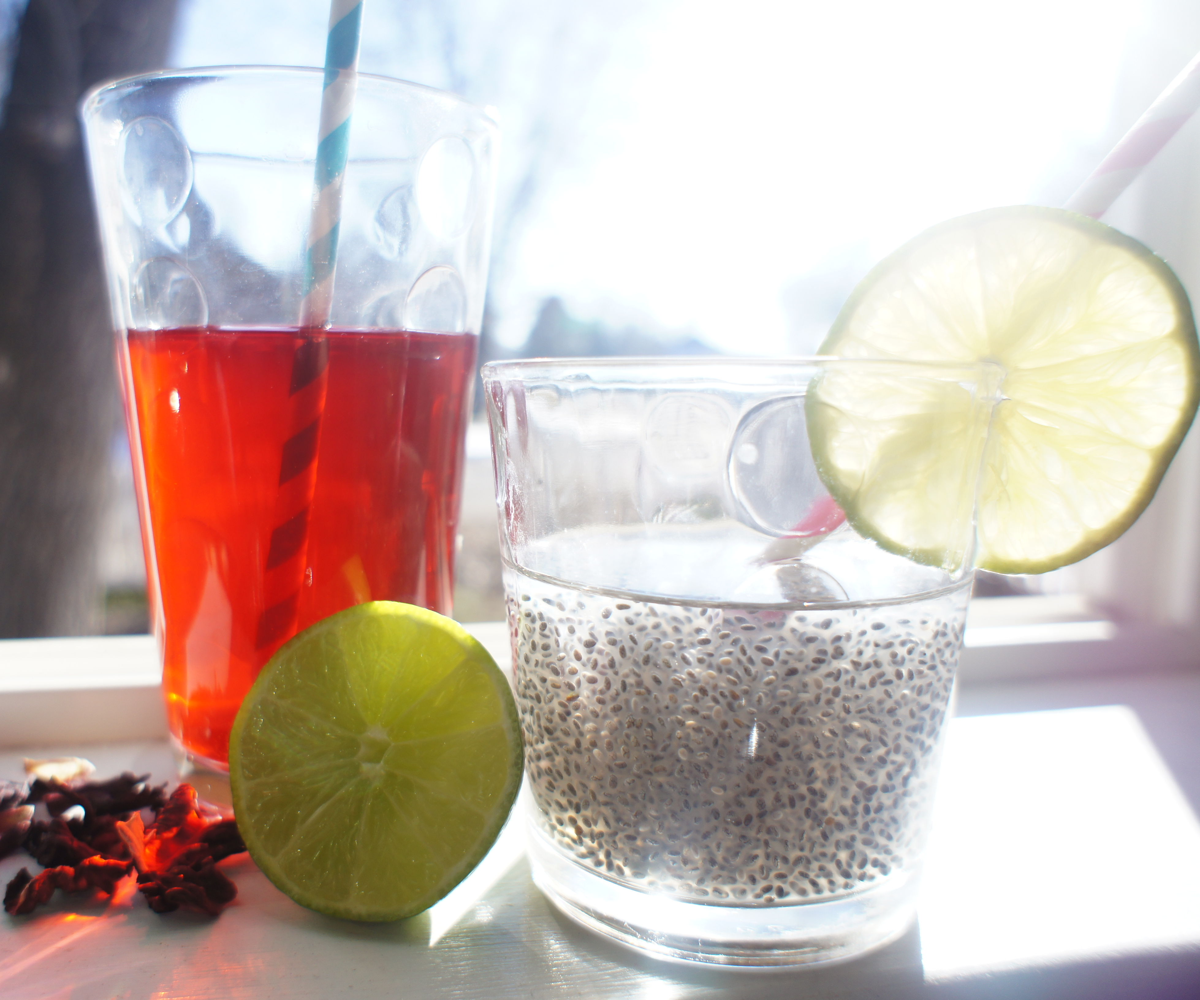 Chia Fresca: Add nutrients to any drink