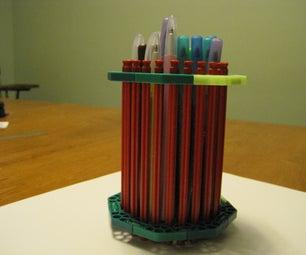 K'nex Pencil Holder