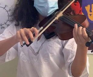 完善你的小提琴姿势