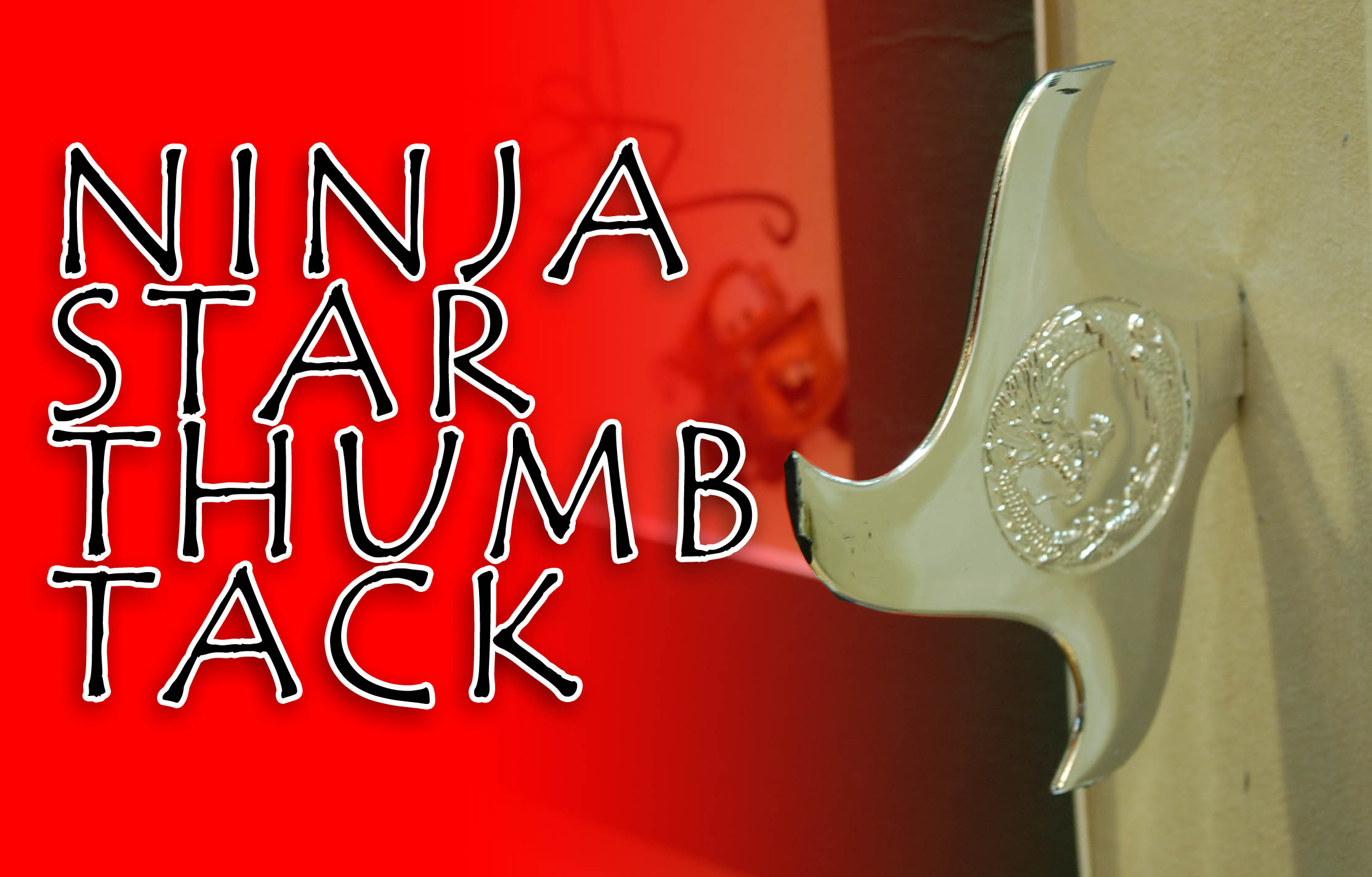 Ninja Star Thumb Tacks
