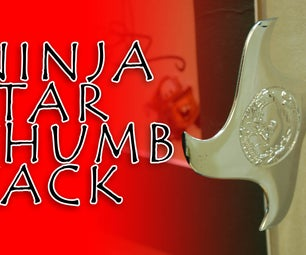Ninja Star Thumb Tacks