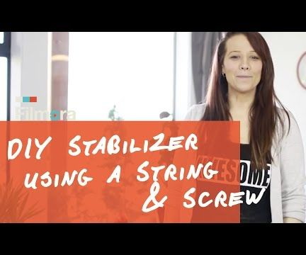 Build A DIY Camera Stabilizer for Under $5