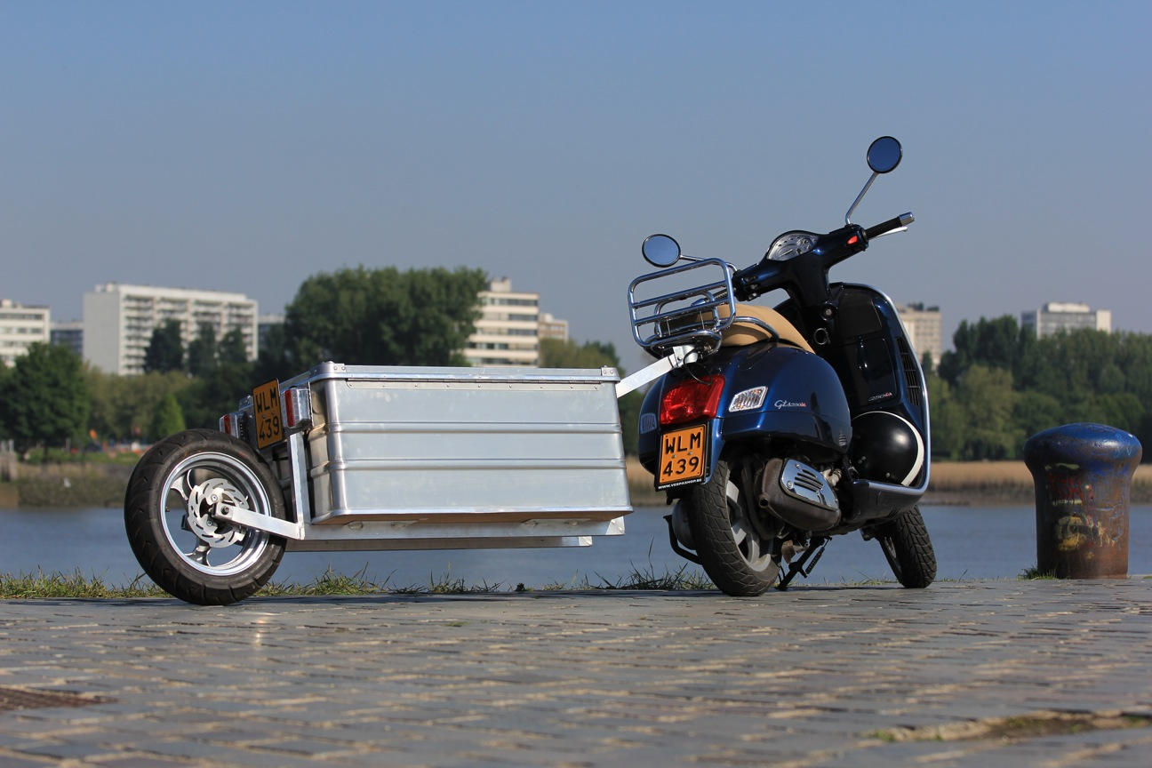 Trailer for Vespa Scooter
