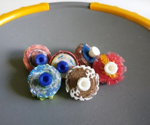 Make Your Own Beyblade Micros: Paper Edition