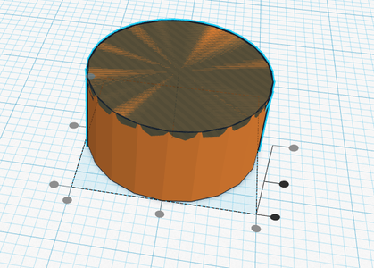 Align the Half-Sphere and Cylinder
