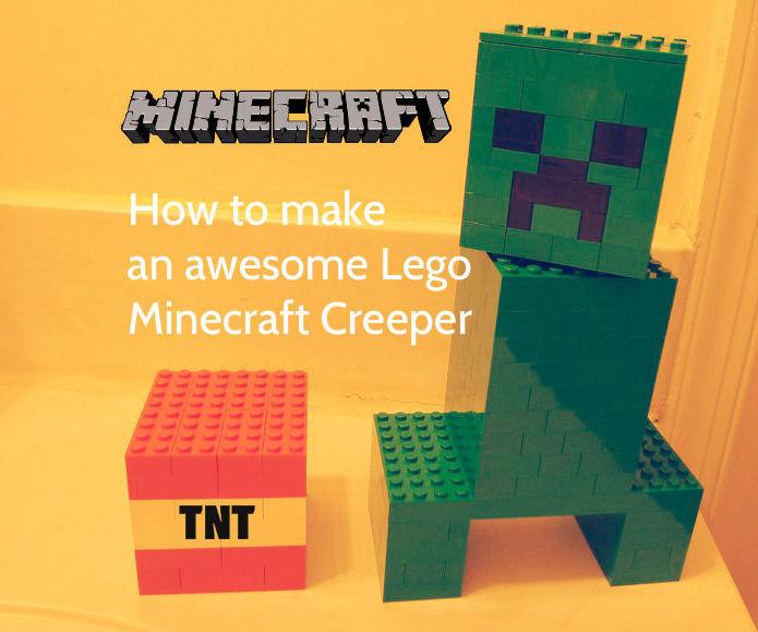 Lego Minecraft Creeper & TNT