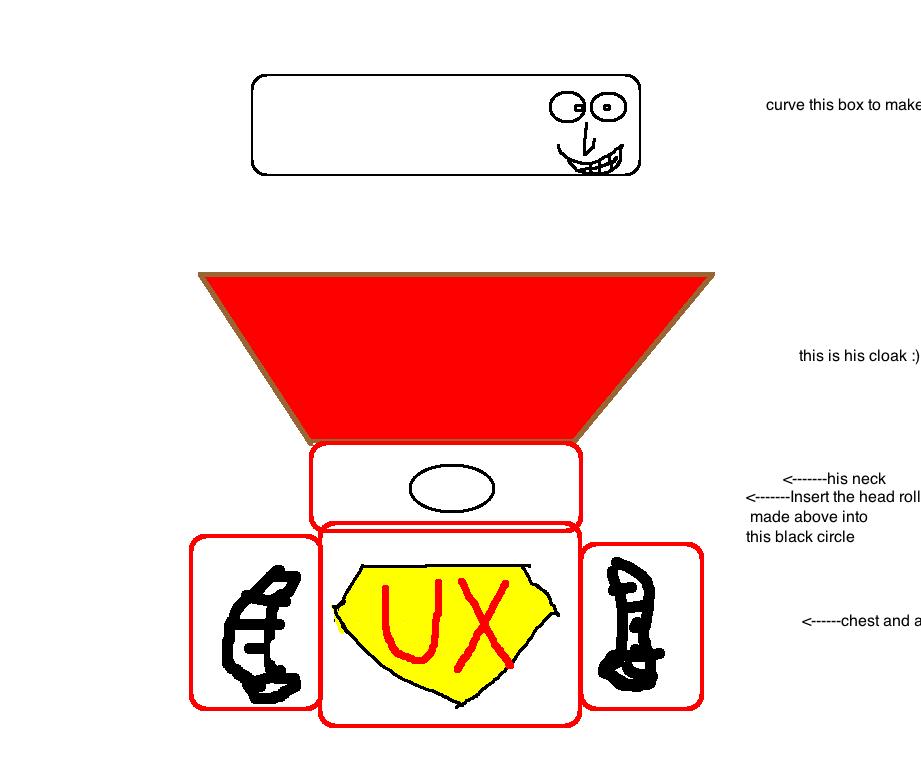 I am an Super UX Robot