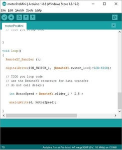 Arduino IDE and Upload Code