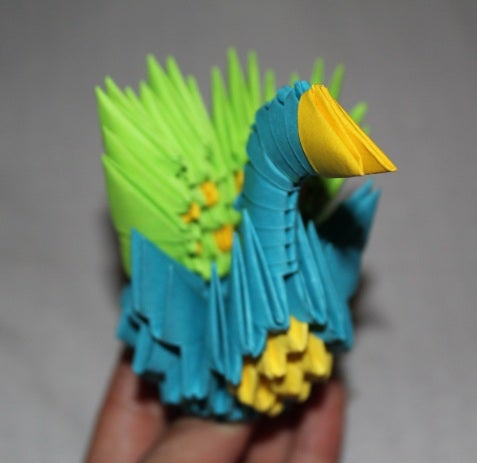 The Post-it Peacock