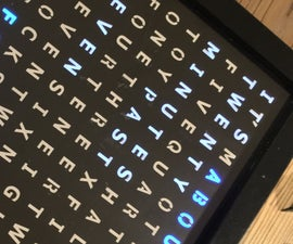 Ribba Word Clock With Wemos D1 Mini (Internet Time Server)