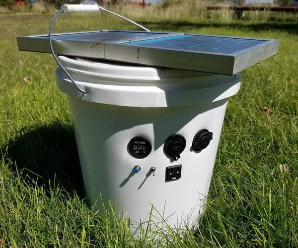 Solar Power Bucket