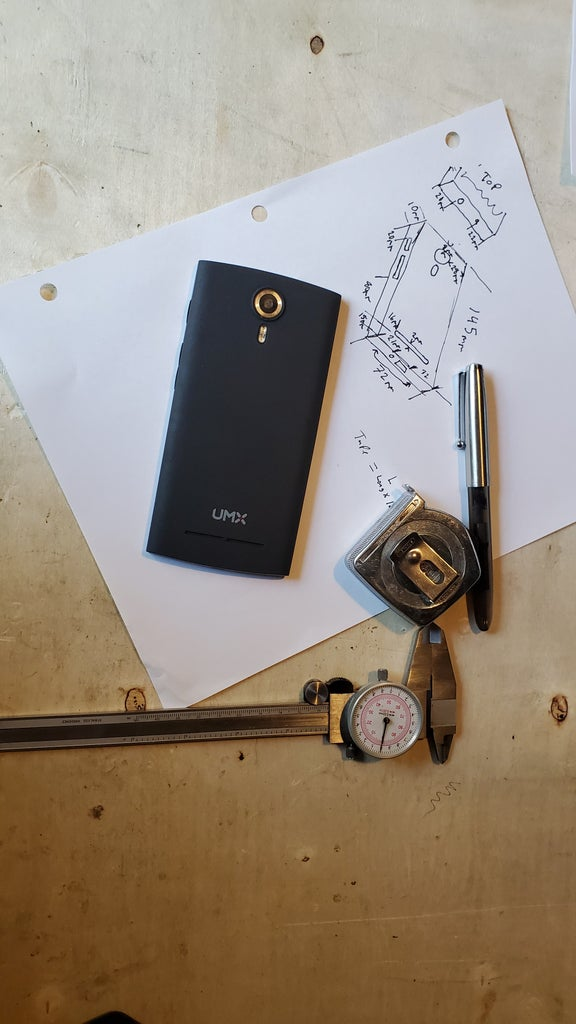 Measure the Phone and Design