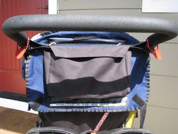 How to Sew a Small Gusseted Stroller Bag