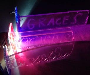 Light Up Name Tag