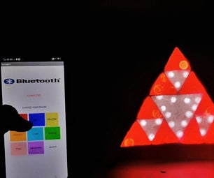 CREATE SHADES WITH SIERPINSKI'S TRIANGLE AND SMART PHONE