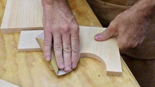 Sanding, Marking, Drilling