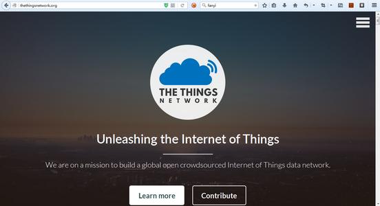 Create an Account on TTN Network