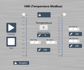 Simulación Transmisor De Temperatura Modbus (Labview + Raspberry Pi 3)