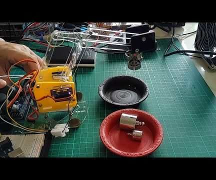MeArm With Electromagnet