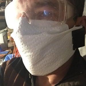 Easy DIY Disposable Face Mask