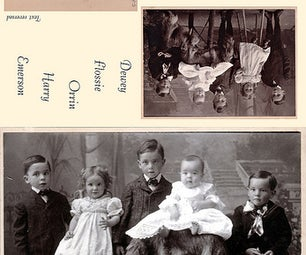 Restored Family Photo Cards
