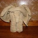 how to create a towel elephant!