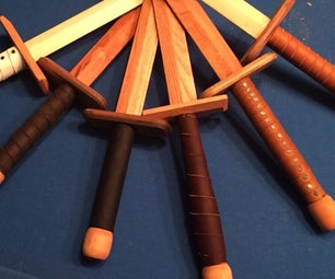 Wooden Swords and How I Learned to Love Leather-Work