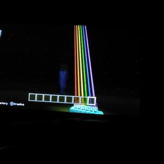 Color Beacons in Minecraft
