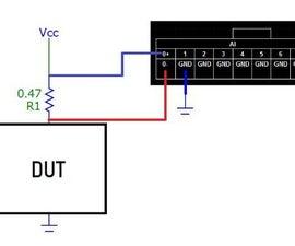 在叉子上的电源测试SDRAM