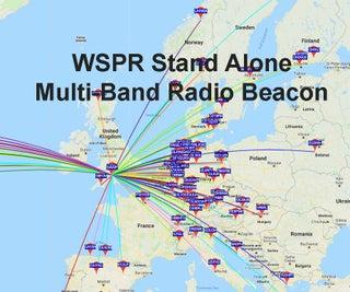 WSPR (Weak Signal Propagation Reporter) Stand Alone Beacon