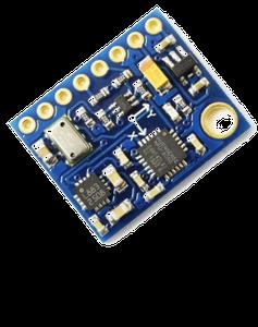 GY-86: Accelerometer & Gyroscope