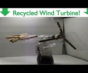 How to Make a Wind Turbine Out of Water Bottles!