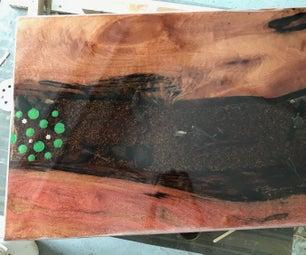 Resin Fish Table