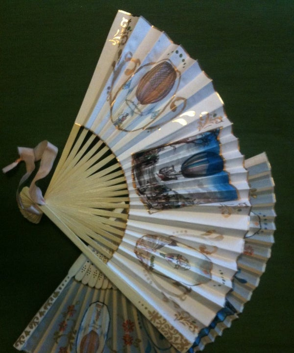 Make an 18th Century Style Hand Fan