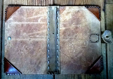Magic Leather Sketchbook Cover