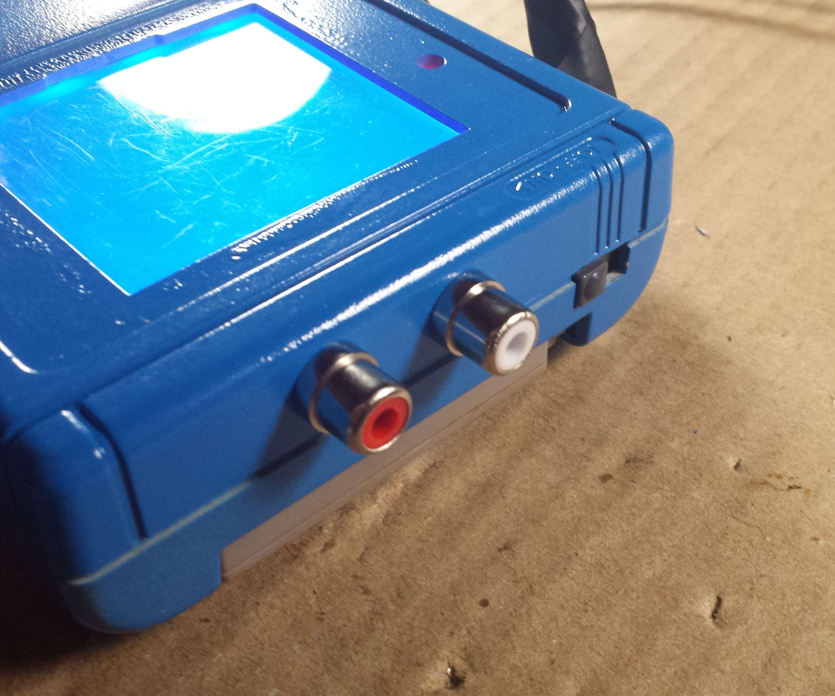 Game Boy RCA Pro Sound DIY
