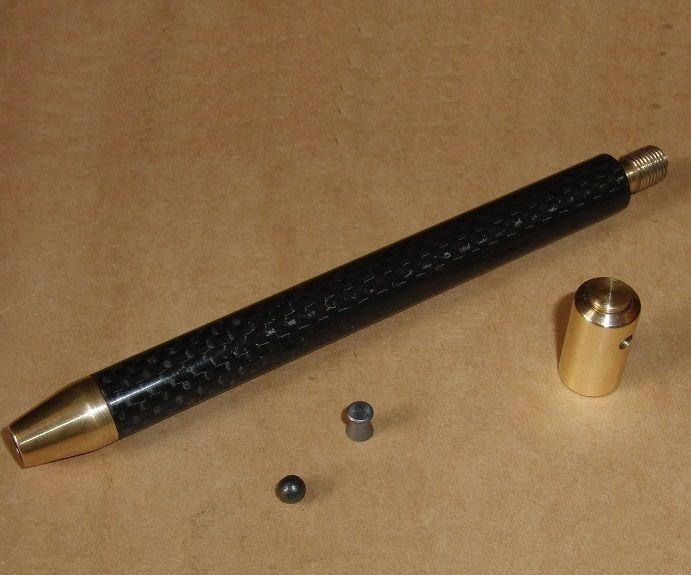 Carbon Fiber Pneumatic Pen Gun