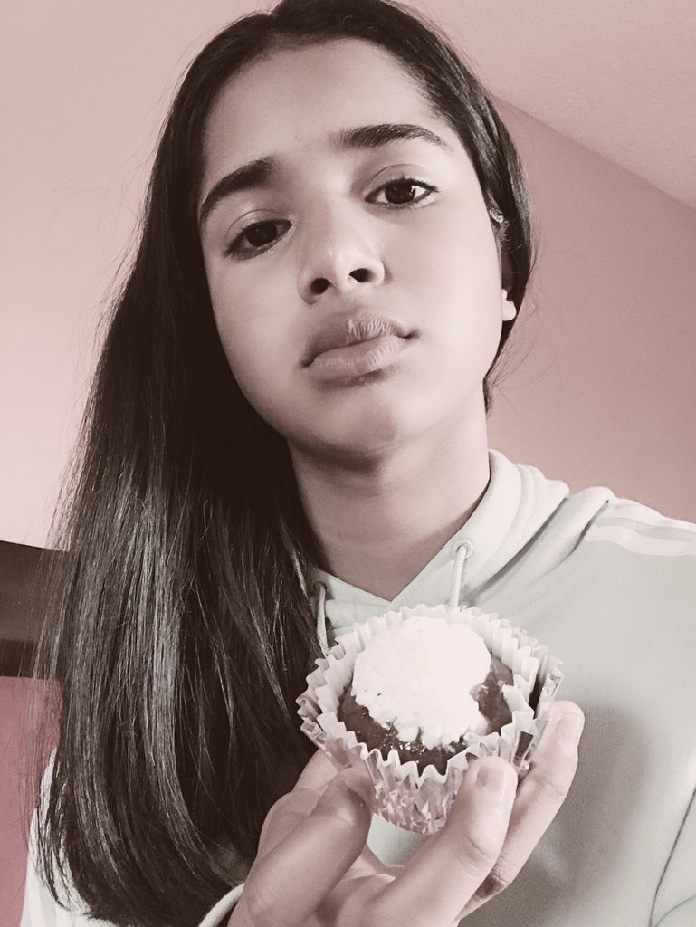 Picture With Cupcakes