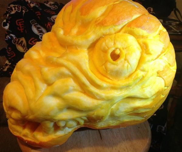 Carnivorous Pumpkin Carving