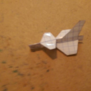 How to Make the Starfighter Paper Airplane