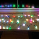 ATTiny 85 Controlled Festive String Lights