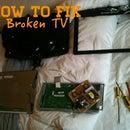 How to fix a broken TV