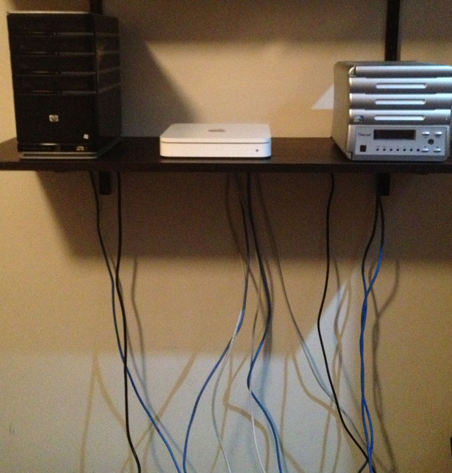 Affordable Home Network Cable Management