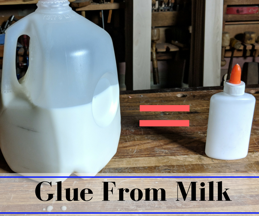 Kid Safe Glue From Milk