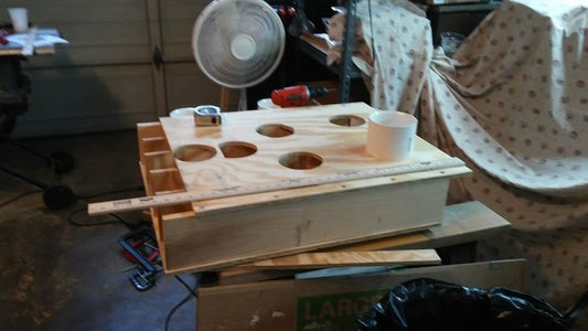 Head Board Cups and Dry Run Fitting